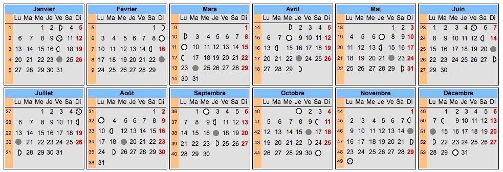 Calendrier Lunaire Mars 2020.Pleines Lunes